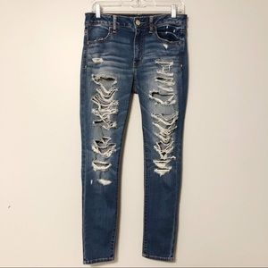 Distressed Jeggings | American Eagle